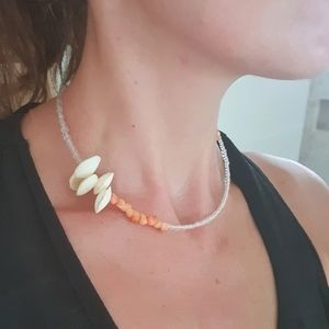 By the Sea Shell Necklace